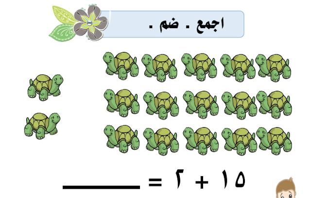 وسائل الوحدة الثامنة رياضيات الصف الأول مدرسة هدية اعداد عذاري العازمي