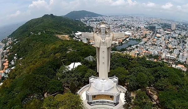 Ngắm nhìn toàn cảnh Vũng Tàu từ tượng chúa Ki Tô