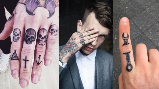 Finger Tattoo for Men Thumbnail