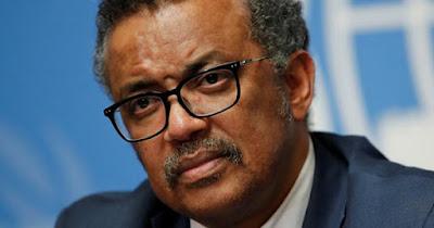 Dr. Tedros Adhanom Ghebreyesus, Director General of WHO