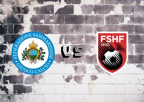 San Marino vs Albania  Resumen