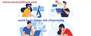 Best Work From Home Jobs Internship in 2020 in India