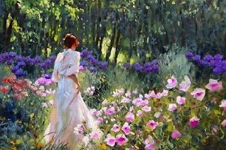 Resultado de imagem para caminho de flores