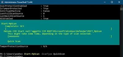Comandi Microsoft Defender