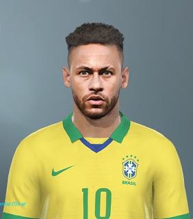 PES 2019 Faces Neymar Jr by Kleyton