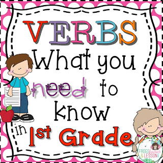 1st Grade Verb Activities