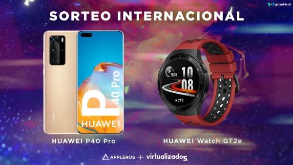 Sorteio do Huawei P40 Pro + Huawei Watch GT 2e