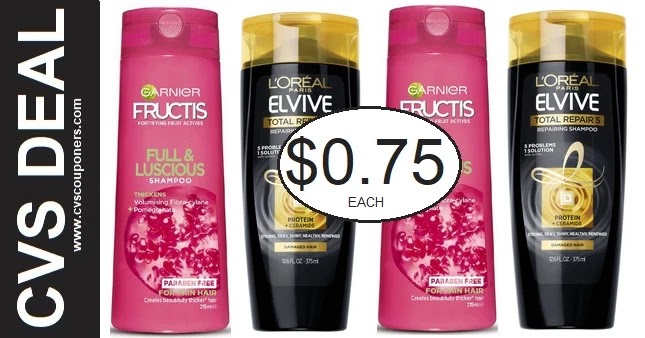 Cheap Garnier & L'Oreal Hair Care at CVS 9-5-9-11
