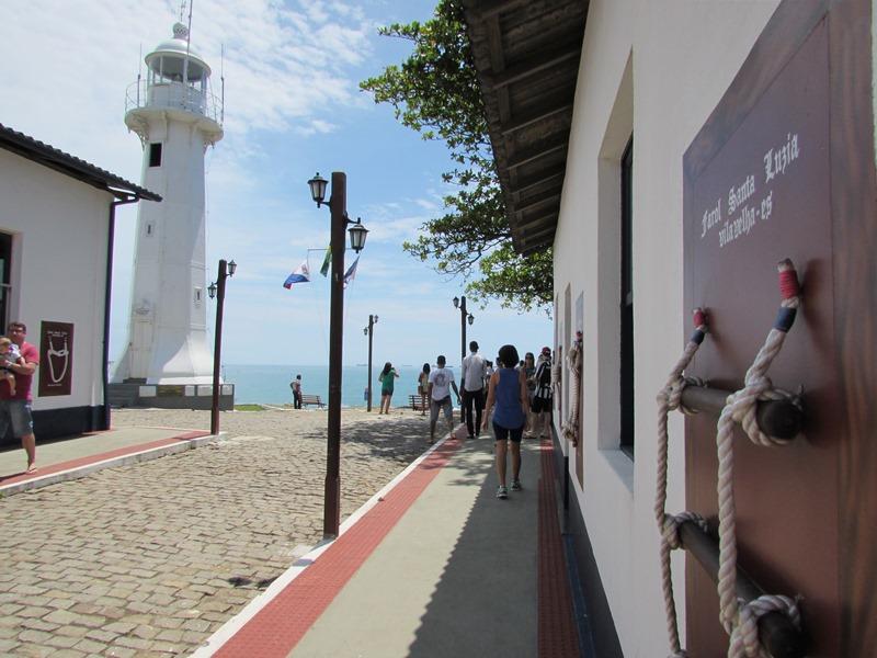 Visita ao Farol de Santa Luzia, Vila Velha - ES