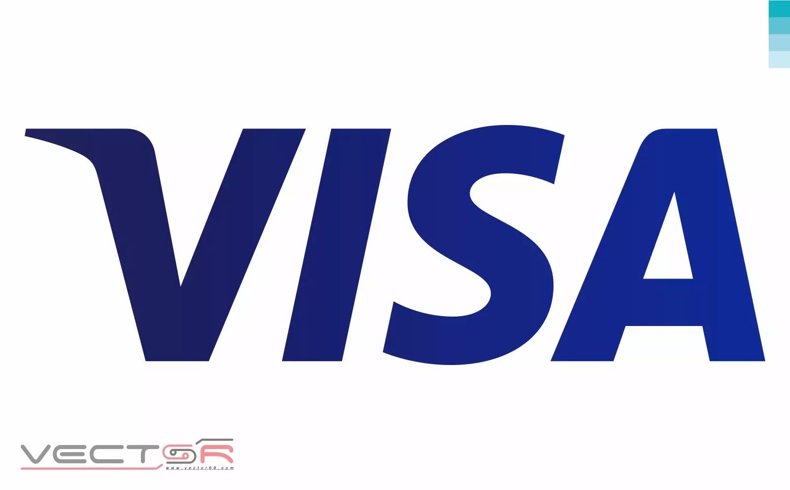 Visa (2014) Logo - Download Vector File SVG (Scalable Vector Graphics)