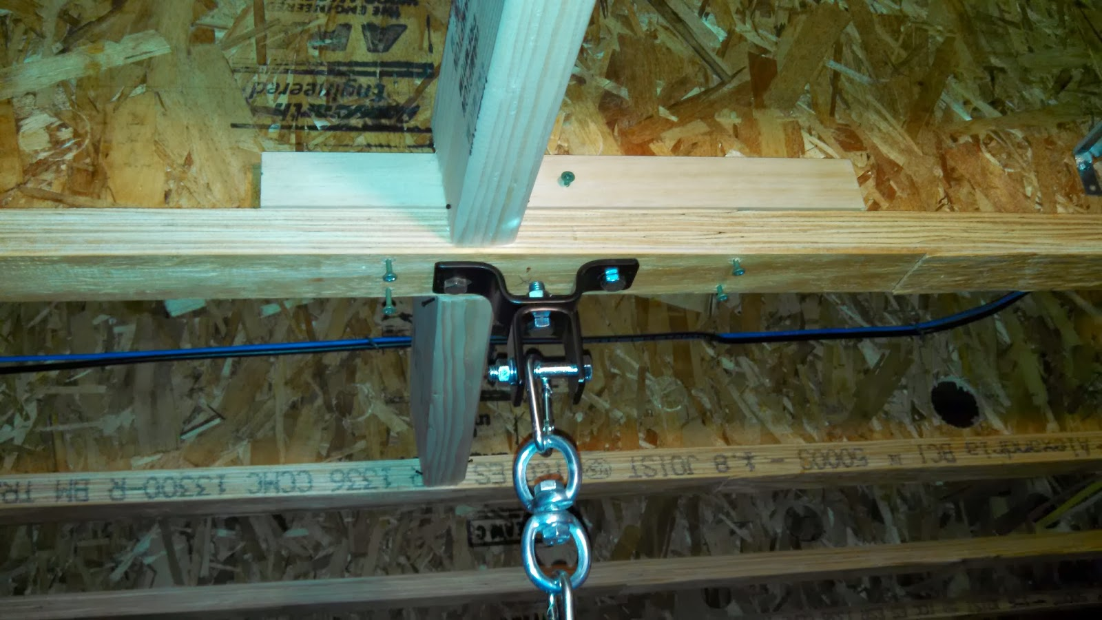 Safe To Hang A 70 Lb Punching Bag From Floor Joist Ar15 Com