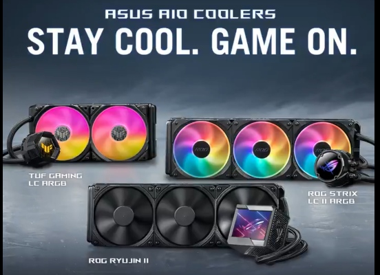 ASUS to launch three new AIO Coolers | TechNeg