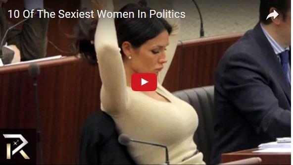 Top 10 Hottest Women In Politics!