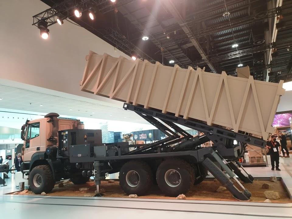 Halcon презентував на IDEX 2021 нову крилату ракету