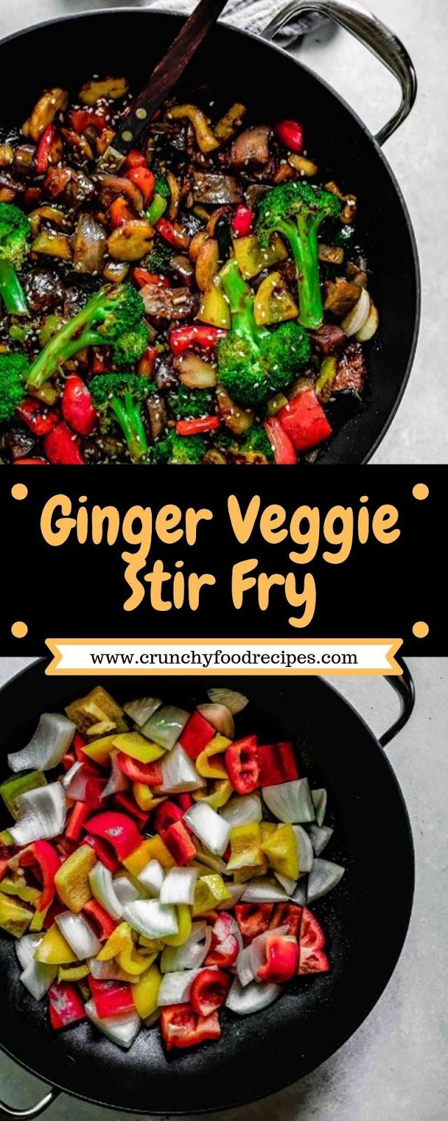 Ginger Veggie Stir Fry