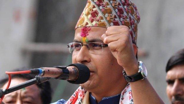 Raju Bista, the BJP MP of Darjeeling