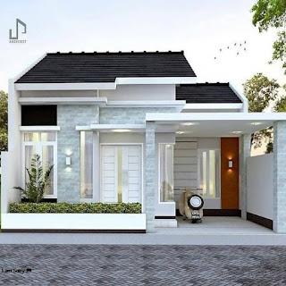 denah rumah type 45 dan rab - desain rumah minimalis