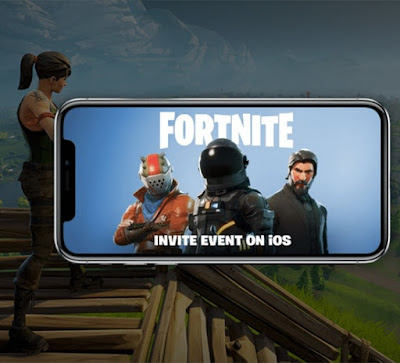 When did fortnite launch a mobile version of their game ? (option)