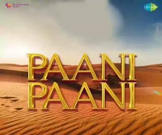 PAANI PAANI Lyrics - Badshah x Astha Gill