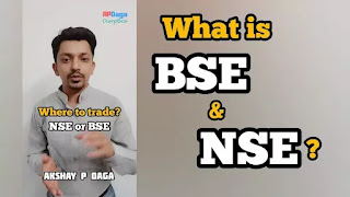 What is NSE & BSE? Where to trade NSE or BSE? What is Nifty & Sensex? | Investment Ideas by APDaga