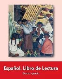 Libro de texto  Español Lecturas Sexto grado 2019-2020