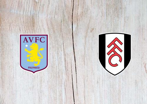 Aston Villa vs Fulham -Highlights 04 April 2021