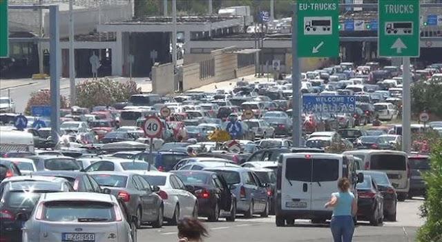 Urlaubszeit: Chaos am Grenzübergang Gevgelija-Evzoni - auch Handgreiflichkeiten