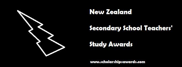 New Zealand Secondary School Teachers Study Awards