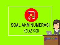 Soal AKM Numerasi Kelas 5 SD dan Kunci Jawaban