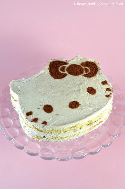 Hello Kitty Sponge Cake Recipe