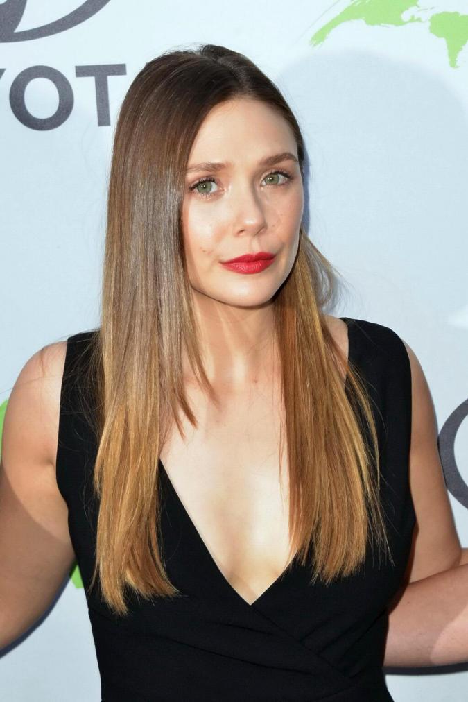 Elizabeth Olsen is a magnetic angel