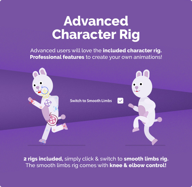Animal Character Animation Explainer Toolkit