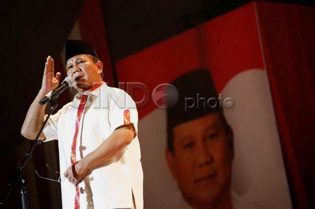 Ini Nama-nama yang Dinilai Versi Survei Pantas Dampingi Prabowo