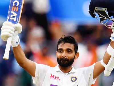 ஆஸ்திரேலிய அணிக்கு எதிரான இரண்டாவது டெஸ்ட் போட்டியில் ரஹானே சதம் அடித்துள்ளார்.