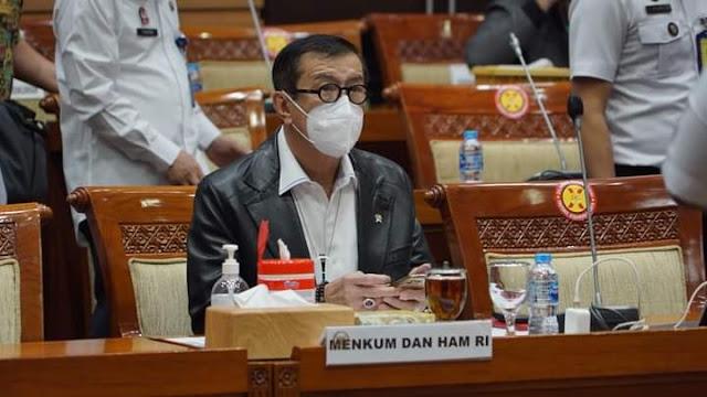 RUU Bantuan Hukum Timbal Balik dalam Masalah Pidana Indonesia-Rusia Disetujui DPR, Yasonna Laoly: Komitmen Negara Atasi Kejahatan Lintas Negara