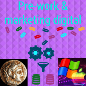Prework para la venta on line, en el marketing digital el análisis de posibilidades de mercado, audiencia, público objetivo, estudio.