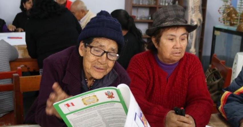 DÍA DEL ADULTO MAYOR: Más de 11 mil abuelitos también van a la escuela