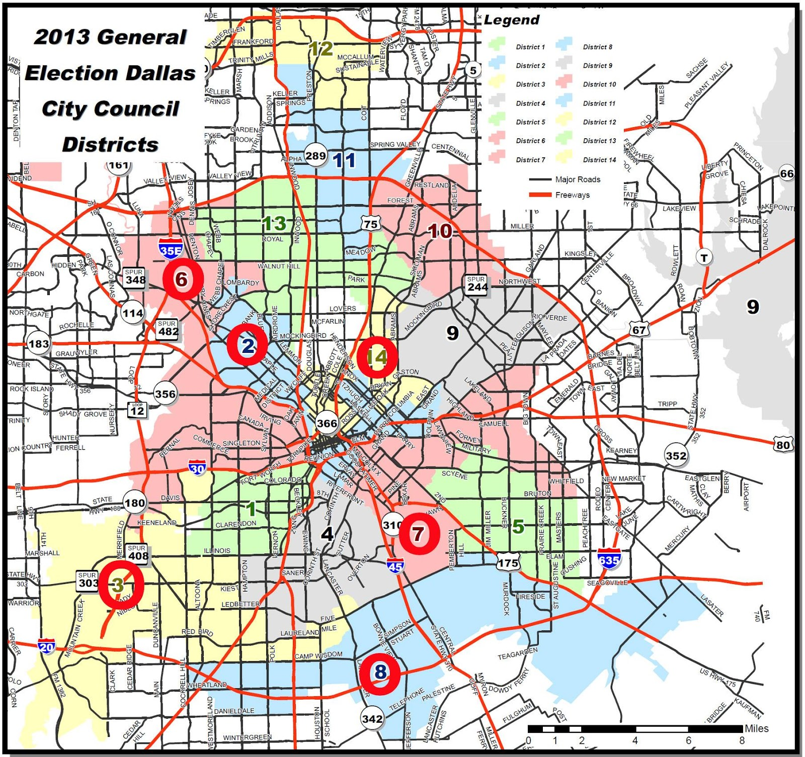 Bill Betzen's Blog: Planning for Dallas City Council Redistricting on