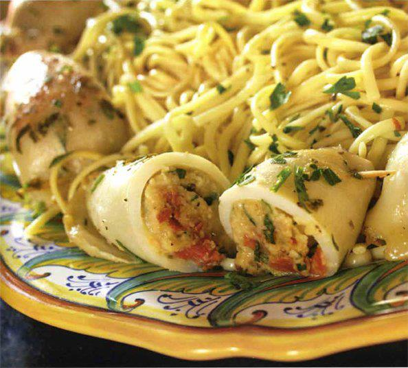 Beauty Fashion Food: الكالماري المحشي الايطالي