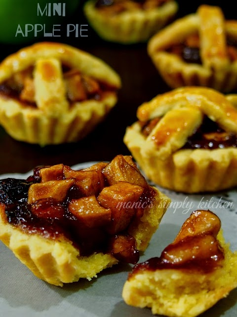 resep mini apple pie