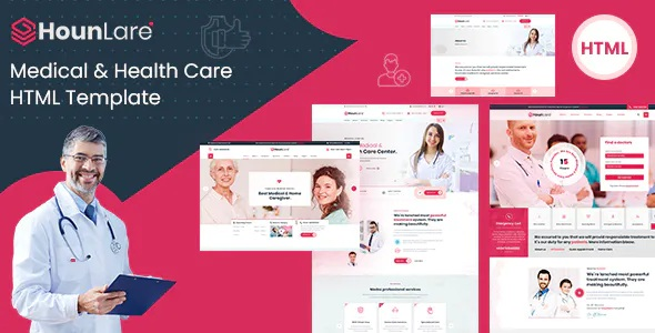 Best Medical & Health Care Services HTML5 Template