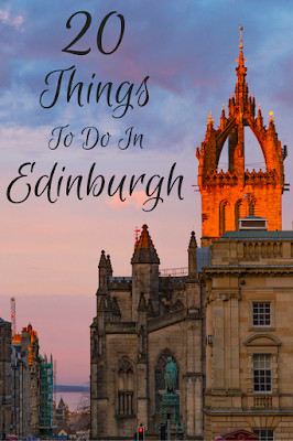 Travel the World: 20 fun things to do in Edinburgh Scotland to include in a three day itinerary.