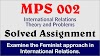 Examine the Feminist approach in International Relations.