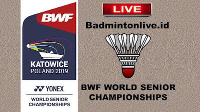YONEX BWF WORLD SENIOR BADMINTON CHAMPIONSHIPS KATOWICE 2019