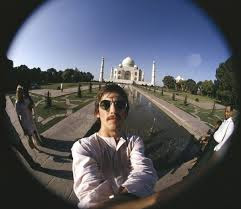 first selfie with taj mahal, George Harrison