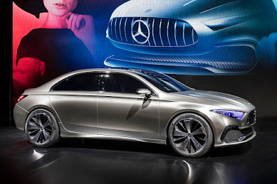Mercedes-Benz Concept A Sedan (2017) Front Side