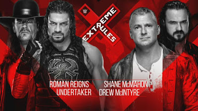 Undertaker Extreme Rules Shane McMahon Drew Raw Tag Team