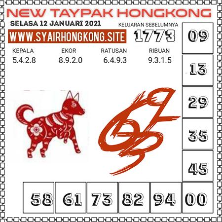 Prediksi Togel New Taypak Hongkong Selasa 12 Januari 2021