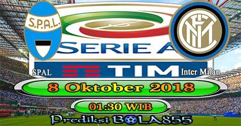 Prediksi Bola855 Spal vs Inter Milan 8 Oktober 2018