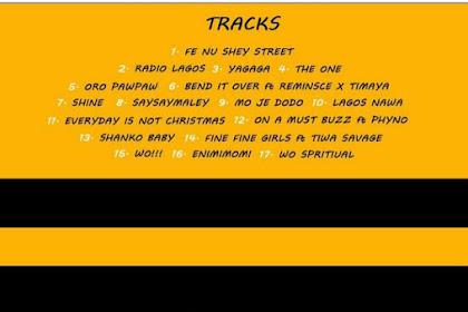 Olamide Releases Tracklist For His 7th Studio Album, #LagosNawa @olamide_YBNL